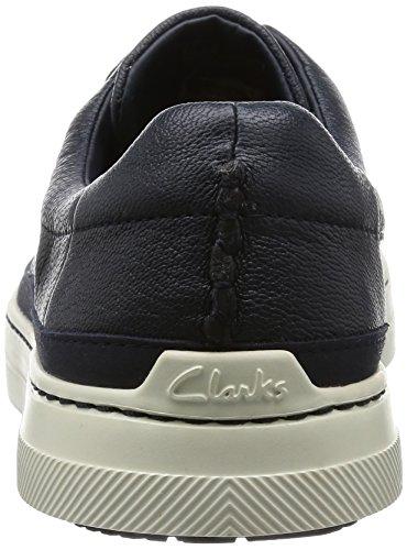ClarksBallof Lace - Scarpe Stringate Uomo Blu (Navy Leather)