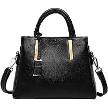 Mena UK - Nueva correa para mujer - Set Casual de cuero suave bolso / bolso de hombro / Messenger Bag