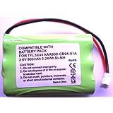 Batería de Recambio para Motorola de sistema de vigilancia Baby MBP33/MBP36, 900 mAh, 3,6 V