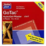 GOTAC HydroGel-Pflaster L 10x10 cm steril 5 St Pflaster