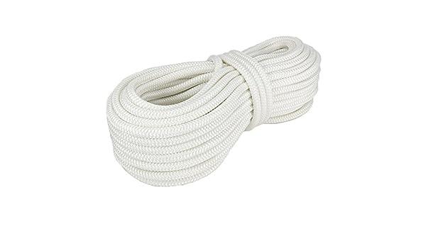 Polyesterseil Seil Polyester 18mm 10m Schwarz Geflochten