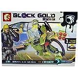 BLACK GOLD ROBOT (104 PCS )