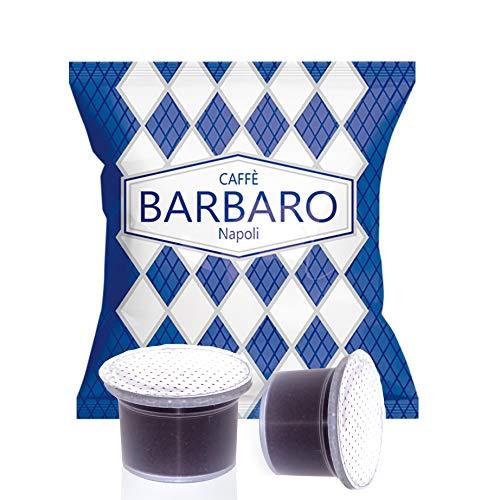 100 Capsule Uno System Barbaro Caffe\' Cremoso Napoli Miscela Blu