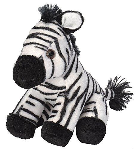 Wild Republic 18115 - CK Lil's Plüsch Zebra, 15 cm (Zebra-plüsch-spielzeug)