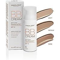 Simon & Tom BB Cream 50ML 3 Tonos disponibles. Múltiples beneficios en una sola crema. Hidrata y alisa la piel con protección SPF15✔vegana ✔ libre de parabenos & ftalatos
