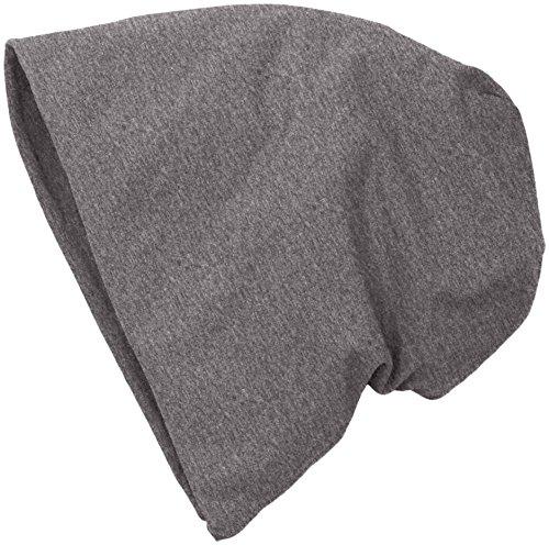 mstrds-jersey-beanie-berretti-a-maglia-unisex-adulto-grau-heath-charcoal-11374562-taglia-unica-s-m