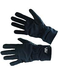 Guau desgaste guantes de equitación marina impermeable, color Negro - negro, tamaño mediano