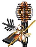 Xculpter Wild - Mini Sèche Cheveux Lissant - 2 Brosses - SUN