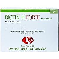 Preisvergleich für Biotin H forte Tabletten 120 stk