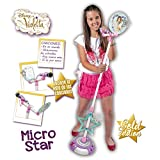 Smoby - Micro Sur Pied Violetta