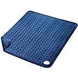 Almohadilla Eléctrica Térmica (50 x 60 cm) con Función de Apagado Automático 6 Grados de Calefacción Terapéuticos Franela Suave Alivio Muscular para Espalda Cuello Hombro