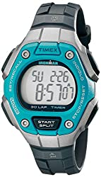 Timex Womens TW5K893009J Ironman Classic 30 Digital Watch With Black Resin Band