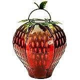 Solar-Gartenlaterne Funky Erdbeere, ca. 18,5 cm hoch