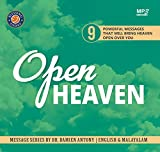 Open Heaven, English to Malayalam (Christian Message CD) Blessing Today Resources by Damien Antony & Kshama Damien