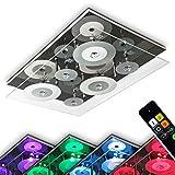 LED Deckenleuchte Everlight mit Farbwechsler und Fernbedienung