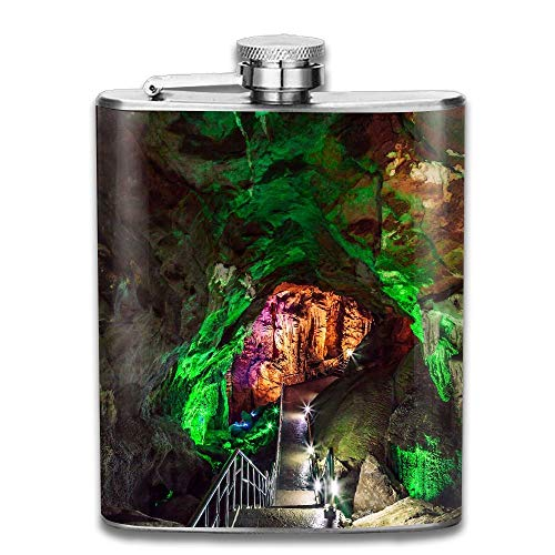 Hoklcvd Furong Cave In Wulong Karst National Geology Park China is The World Natural Heritage Place It 304 Stainless Steel Flask 7oz China Blue Natural