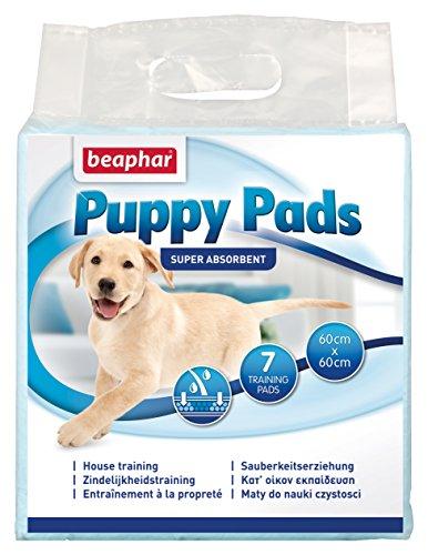 Beaphar BEA12637 Puppy Pads Empapadores Absorbentes, 60 x 60 cm, 7 Piezas