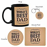Giftsmate Worlds Best Dad Mug for Father...