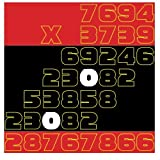 Color Multiplication: 7694 x 3739 to 8498 x 6838: Volume 8 (Homeschool Workbook)
