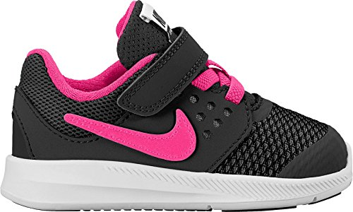 Nike Jungen 869971-002 Trail Runnins Sneakers Black (Schwarz / Hyper - Rosa-Weiß)