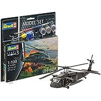 Revell 64984–Maqueta de helicóptero 64984Set 1: 100–UH flyfun-60a en Escala 1: 100Niveles, 3, orgin Algas fidelidad imitación con Muchos Detalles, helicóptero de