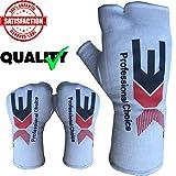 3X Sports Boxen Elastisch Innenhandschuhe Boxbandagen Handschuhe Daumenschlaufe