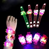 Party Propz® Cartoon Characters LED Light Bracelets Return Gifts for Kids (Set of 12)