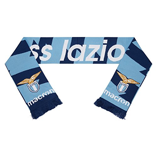 bufanda doble azul marino/cel ss lazio 2017/18