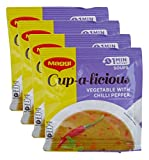 #5: Big Bazaar Combo - Maggi Soup Mix Chilli Pepper, 15g (Buy 3 Get 1, 4 Pieces) Promo Pack
