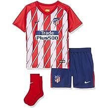 Nike 847314 612 Camiseta, Niños, Rojo/Blanco, 9-12 Meses