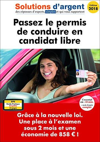 Passez le permis de conduire en candidat libre. Grâce à la nouvelle loi. Une place à l'examen sous 2 mois et une économie de 858 € !