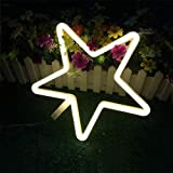 OUSENR Tar Nachtlicht Led Neon Licht Warm Weiße Wand Deko Lampe Betrieben Von Batterie/Usb Für Urlaub Kinder Baby Niedlich Nacht Lampe, Warm-Weiss, Batteriebetrieben