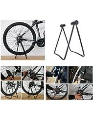 U Forme Support Pliant de Vélo,pour réparation, Parking et Nettoyage de Bicyclette