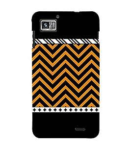 For Lenovo K860 :: Lenovo IdeaPhone K860 zigzag pattern ( zigzag pattern, nice pattern, beautiful pattern, pattern, stripes ) Printed Designer Back Case Cover By FashionCops