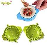 delidge-Formen aus Kunststoff, 7,5cm Teigpresse-Dumpling, Kochen, chinesisch, für Lebensmittel, Jiaozi, Ravioli -