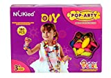 #9: Planet of Toys Girl's Fashion Jewellery Easy To Connect Beads Set (180 Pcs)
