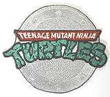 "TMNT-Collettore Logo Iron on Patch 8 cm di spille ""Teenage Mutant Ninja Turtles-Costume vintage da stiro, motivo: regalo Cosplay"