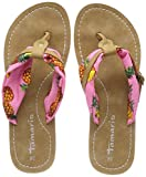 Tamaris Damen 27109 Pantoletten, (Pink Pineapple), 36 EU