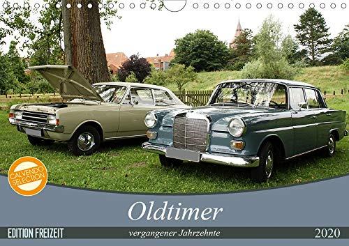 Oldtimer vergangenger Jahrzehnte (Wandkalender 2020 DIN A4 quer): Der Kalender zeigt eine bunte Vielfalt von Aufnahmen der Automobile der vergangenen ... 14 Seiten ) (CALVENDO Mobilitaet)