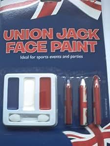 Jubilee Party Union Jack Face Paint