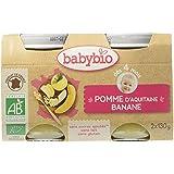 Babybio Pots Pomme d'Aquitaine Banane 260 g -