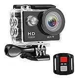 Nexgadget Sport Kamera, 2 Zoll Actionkamera Set mit 12 Megapixel Bild und Full HD 1080p Sport Action...