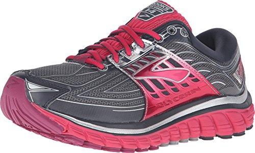 Brooks Damen Laufschuh Neutral Glycerin 14 D-Weite (breit) Grau - 120217 1D 093 (38) (Weite Laufschuhe Damen)