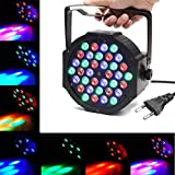 LED PAR,SOLMORE 36W Disco Lichteffekte Party Bühnenbeleuchtung 36LEDs Par Licht DJ Strobe Light...