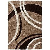 Lalee 347121052 Joy 104 - Alfombra (80 x 150 cm), color marrón