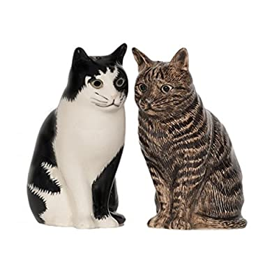 Quail Ceramics - Cat Salt And Pepper Pots - Barney & Clementine by Quail Ceramics