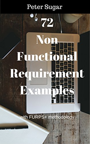 72 Non-Functional Requirement Examples: with FURPS+ methodology (English Edition)