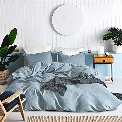 SHJIA Bettbezüge Bettbezüge Einfarbig Bettbezug Size Bettbezug Super King Size Tagesdecken D 229x229cm (Verkauf Für Faultier Preis)