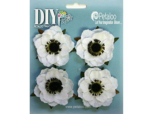 petaloo-diy-verniciabile-tela-anemone-fiori-2-bianco-carta-multicolore-3-pezzi