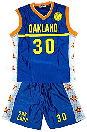 Boys OAKLAND Basketball Sports Vest Top u0026 Shorts Outfit Set sizes from 4 to 14 Years Amazon.co ...